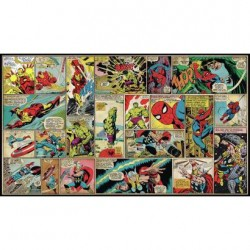 Murals Marvel Comic Cover Panels Pre-Pasted Mural