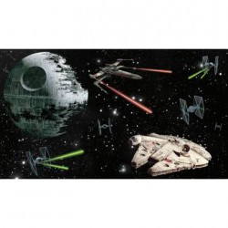 JL1399M Star Wars Vehicles Prepasted Mural