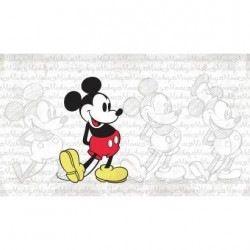 Murals Disney Classic Mickey Pre-Pasted Mural