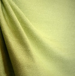 Green Herringbone Upholstery Fabric Jumper Sprig