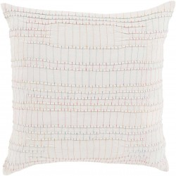 Keaton Pillow with Down Fill in Ivory | KN001-2222D