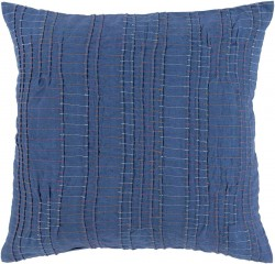 Keaton Pillow with Down Fill in Cobalt | KN003-2222D