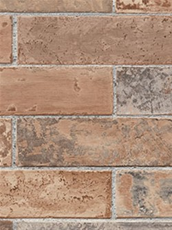 LL29534 Faux Brick Wallpaper