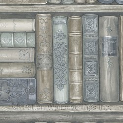 LL36203 Bookcase Wallpaper