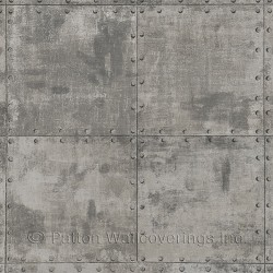 LL36224 Steel Tile Wallpaper