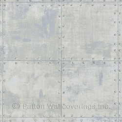 LL36230 Steel Tile Wallpaper