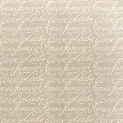 Love Lines Puff Kasmir Fabric