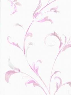 LS70500 Scroll Leaves Wallpaper