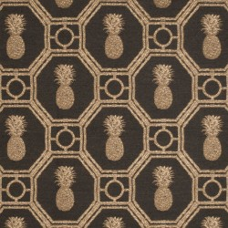Mahalo Trellis Chocolate Kasmir Fabric