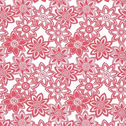 Mahina Hot Pink Kasmir Fabric