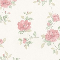 MD29439 In Register Rose Trail Wallpaper
