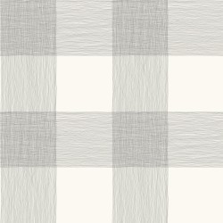 Common Thread Black on White Magnolia Home Vol. II Wallpaper