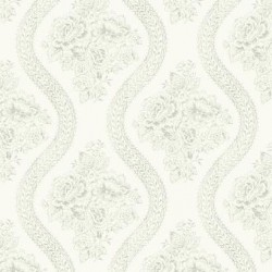 MH1595 Coverlet Floral Wallpaper