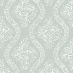 MH1598 Coverlet Floral Wallpaper