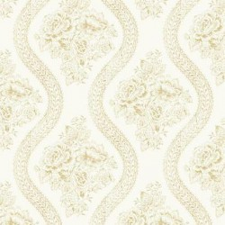MH1602 Coverlet Floral Wallpaper