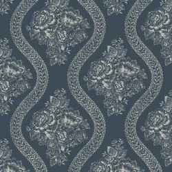 MH1603 Coverlet Floral Wallpaper