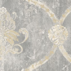 MH36506 Regal Damask Wallpaper