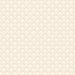 MK1153 Stacked Scallops Pink Wallpaper