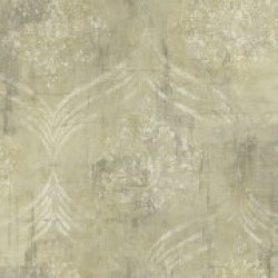 Metallika Brilliant Ogee Wallpaper (MK21205)