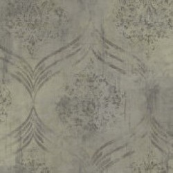 Metallika Brilliant Ogee Wallpaper (MK21206)