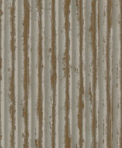 MM1719 Weathered Metal Taupe/Gold Wallpaper