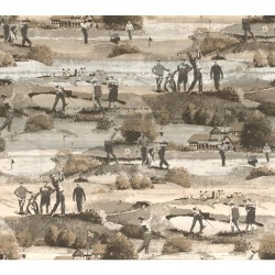 CLD Menswear The Old Course Wallpaper (MW9230_A44)