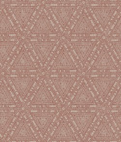 NR1513 Reds Norse Tribal Wallpaper