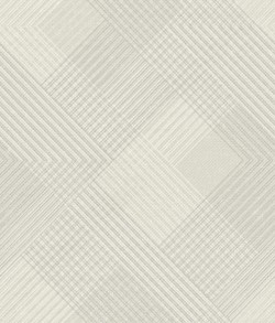 NR1532 White Off Whites Scandia Plaid Wallpaper