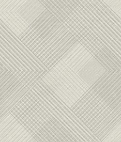 NR1536 White Off Whites Scandia Plaid Wallpaper