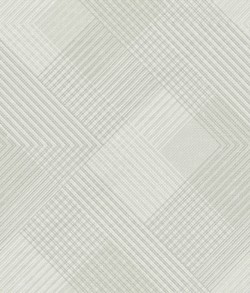 NR1537 White Off Whites Scandia Plaid Wallpaper