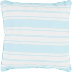 Nautical Stripe Pillow in Teal | NS002-1616