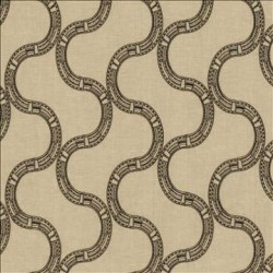 Nubia Coal Kasmir Fabric