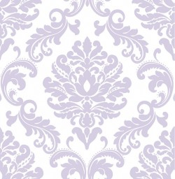 NU1396 Purple Ariel Peel And Stick Wallpaper