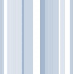 NU1402 Blue Awning Stripe Peel and Stick Wallpaper