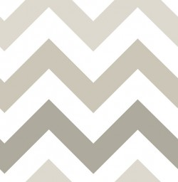 NU1416 Taupe Zig Zag Peel And Stick Wallpaper