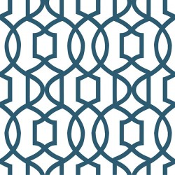 NU1648 Navy Grand Trellis Peel and Stick Wallpaper
