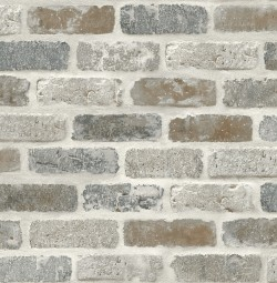 NW30500 Washed Brick NextWall Peel & Stick Wallpaper