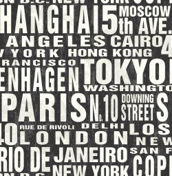 NW31400 Around the World NextWall Peel & Stick Wallpaper