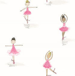 NW32200 Tiny Dancers NextWall Peel & Stick Wallpaper