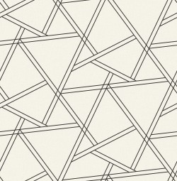 NW32400 Railroad Geometric NextWall Peel & Stick Wallpaper