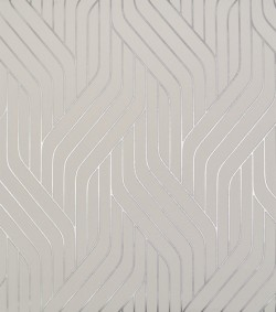 NW3516 Ebb And Flow White/Silver Wallpaper