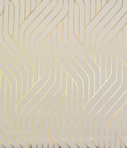NW3517 Ebb And Flow Almond/Gold Wallpaper