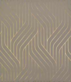 NW3518 Ebb And Flow Khaki/Gold Wallpaper