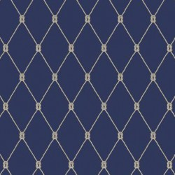 NY4847 Knot Trellis York Wallpaper