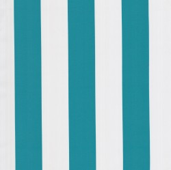 OD Awning Stripe Teal Tempo Fabric