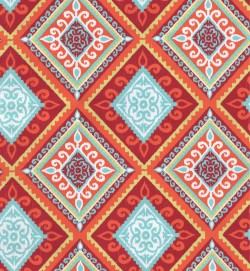 OD Spanish Tile Red Orange Tempo Fabric