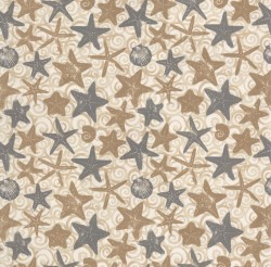 OD Starfish Natural Tempo Fabric