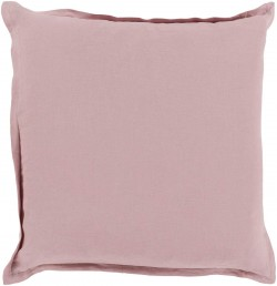 Orianna Pillow with Poly Fill in Salmon   OR003-1818P