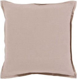 Orianna Pillow with Poly Fill in Gray | OR005-1818P