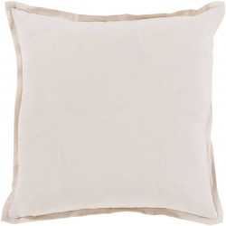 Orianna Pillow with Poly Fill in Light Gray | OR006-1818P